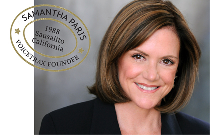 Samantha Paris Voiceover Training
